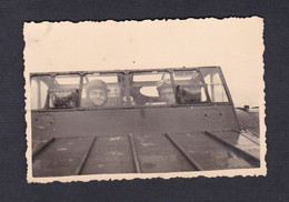 Photo Originale  Escadrille F25 Du GB I /21 Groupe Bombardement Avion Bloch MB 210  Poste De Pilotage - Aviazione
