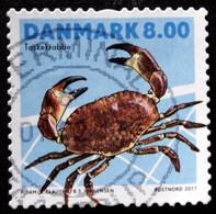 Denmark 2017  Shellfish     MiNr.1909  (O)  ( Lot  G 98) - Danimarca