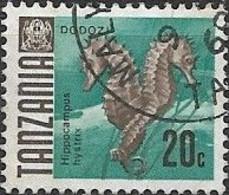 TANZANIA 1967 Fish - 20c. Thorny Seahorse FU - Tanzania (1964-...)