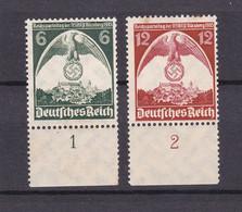 Deutsches Reich - 1935 - Michel Nr. 586/587 UR - Postfrisch - 40 Euro - Deutschland