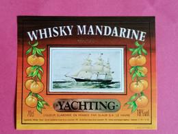 ETIQUETTE WHISKY MANDARINE COCKTAIL THEME BATEAUX                      26/09/20 - Whisky