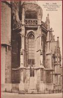 Halle Hal Detail D'Architecture Et Statue Du Christ-Roi  Sint-Martinusbasiliek (In Zeer Goede Staat) - Halle