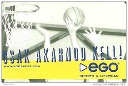 BASKETBALL * SPORT * SPORTSWEAR * LIFEWEAR * BUDAPEST * DUNAKESZI * CALENDAR * Ego 2004 * Hungary - Small : 2001-...