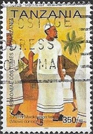 TANZANIA 2002 Ceremonial Costumes - 350s - Mwaka Koga Festival Dancers (Zanzibar) AVU - Tanzania (1964-...)