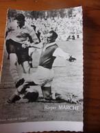 PHOTO CARTONNEE MIROIR SPRINT ROGER MARCHE - Soccer