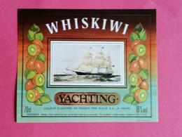 ETIQUETTE WHISKIWI  COCKTAIL THEME BATEAUX                      26/09/20 - Whisky