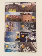 = CZECH REPUBLIC - 10 DIFFERENT PHONECARDS  = LOT NR. 78X3 - Phonecards