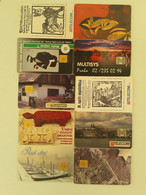 = CZECH REPUBLIC - 10 DIFFERENT PHONECARDS  = LOT NR. 80X3 - Phonecards