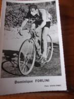 PHOTO CARTONNEE MIROIR SPRINT DOMINIQUE FORLINI - Cycling