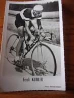 PHOTO CARTONNEE MIROIR SPRINT FRED KUBLER - Cycling