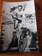PHOTO CARTONNEE MIROIR SPRINT J BOBET - Cycling