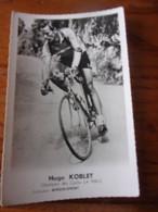 PHOTO CARTONNEE MIROIR SPRINT HUGO KOBLET - Cycling