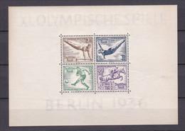 Deutsches Reich - 1936 - Michel Nr. Block 5 X - Ungebr. - Deutschland