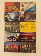 = CZECH REPUBLIC - 10 DIFFERENT PHONECARDS  = LOT NR. 83X1 - Phonecards