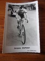 PHOTO CARTONNEE MIROIR SPRINT JACQUES DUPONT - Cycling