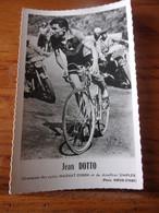 PHOTO CARTONNEE MIROIR SPRINT JEAN DOTTO - Cycling