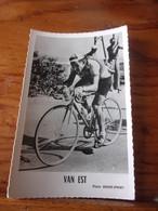 PHOTO CARTONNEE MIROIR SPRINT RICK VAN EST - Cycling