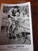 PHOTO CARTONNEE MIROIR SPRINT RAPHAEL GEMINIANI - Cycling
