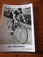 PHOTO CARTONNEE MIROIR SPRINT JEAN BRANCKART - Cycling