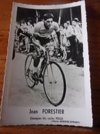 PHOTO CARTONNEE MIROIR SPRINT JEAN FORESTIER - Cycling