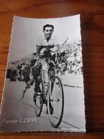 PHOTO CARTONNEE MIROIR SPRINT FAUSTO COPPI - Cycling