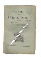 AA / CARNET DE LA SABRETACHE 1923 N°284 JUILETT AOUT 1923 120 PAGES - Documenten