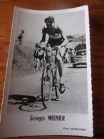 PHOTO CARTONNEE MIROIR SPRINT GEORGES MEUNIER - Cycling