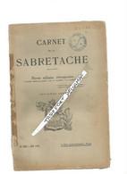 AA / CARNET DE LA SABRETACHE 1926 N°307 JUIN 1926 MILITARIA GUERRE  / REVUE MILITAIRE - Documenten