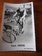 PHOTO CARTONNEE MIROIR SPRINT FRANCIS ANASTASI - Cycling