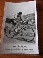 PHOTO CARTONNEE MIROIR SPRINT JEAN MALLEJAC - Cycling