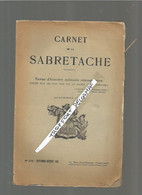 AA / CARNET DE LA SABRETACHE 1935 N°378 SEPT OCTOBRE 1935  MILITARIA GUERRE  / REVUE MILITAIRE - Documenten