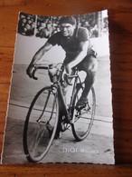 PHOTO CARTONNEE MIROIR SPRINT MAURICE DIOT - Cycling
