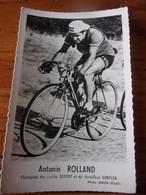 PHOTO CARTONNEE MIROIR SPRINT ANTONIN ROLLAND - Cycling