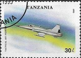 TANZANIA 1993 Military Aircraft - 30s - Northrop F-5E FU - Tanzania (1964-...)