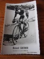 PHOTO CARTONNEE MIROIR SPRINT BERNARD GAUTHIER - Cycling