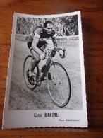 PHOTO CARTONNEE MIROIR SPRINT GINO BARTALI - Cycling