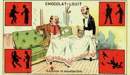 Chromo  Doré //   Chocolat Louit  //  Série De 14 - Louit