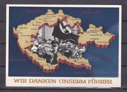 Deutsches Reich - 1938 - Postkarte - Wir Danken Unserm Führer - 6 Pf. - Deutschland