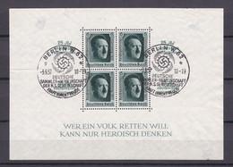 Deutsches Reich - 1937 - Michel Nr. Block 11 - Sonderstempel - Oblitérés
