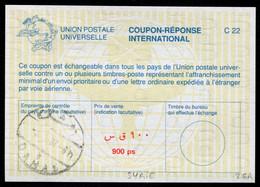 SYRIE   Coupon Réponse International / International Reply Coupon - Siria