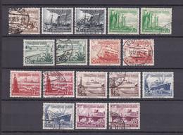 Deutsches Reich - 1937 - Michel Nr. 651/659 - Gestempelt/Ungebr. - 60 Euro - Oblitérés