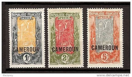 Cameroun N° 84 à 100 * - Unused Stamps