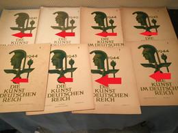10 X Die Kunst Im Deutschen Reich Alle Verschieden, Selten ! - Livres, Revues & Catalogues