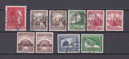 Deutsches Reich - 1938 - Michel Nr. 664/670 - Gestempelt/Postfrisch - 24 Euro - Oblitérés