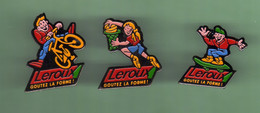LEROUX CHICORÉE *** Lot De 3 Pin's Differents *** (B-9) - Boissons