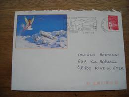 Flamme Haute Savoie Bellevaux 1998 Illustré - Poststempel (Briefe)
