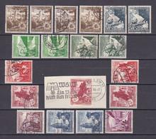 Deutsches Reich - 1938 - Michel Nr. 675/683 - Gestempelt/Ungebr. - 35 Euro - Oblitérés