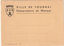 TOURNAI - Conservatoire De Musique.- Recherche Des Professeurs Et élèves Morys Pour La Patrie - Tournai