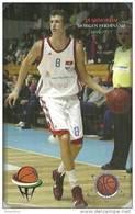 BASKETBALL * SPORT * IN MEMORIAM MORGEN FERDINAND* ATOMEROMU SPORTEGYESULET * PAKS * CALENDAR * MMN 0713 * Hungary - Small : 2001-...