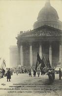 Paris 11 Novembre 1920 - Les Fêtes Du Cinquantenaire De La République : La Sortie Du Cortège Du Panthèon - Manifestazioni